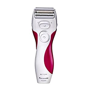 Panasonic ES2207P Ladies Electric Shaver, 3-Blade Cordless Women's Electric Razor with Pop-Up Trimmer, Use Wet or Dry