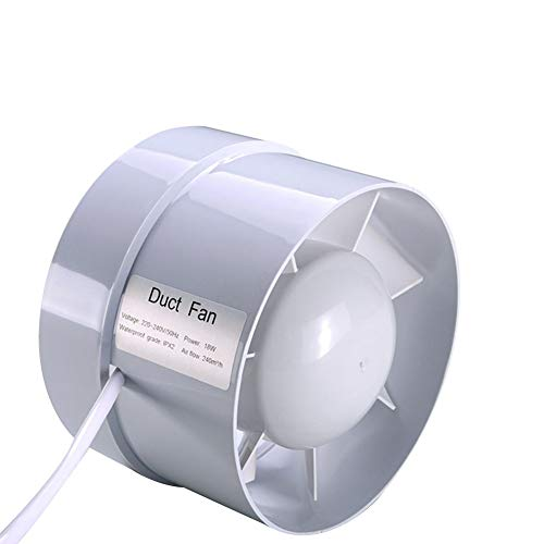 heat resistant inline exhaust fan - 7