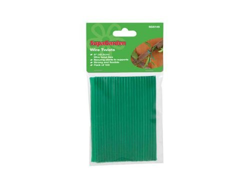 SupaGarden Wire Twists (Pack of 100) 5
