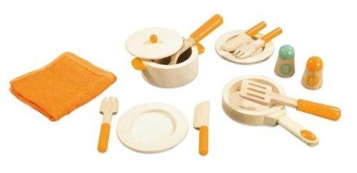 Hape Gourmet Chef Kid's Play Kitchen Food Set and Accessories [並行輸入品]   B06XT8W6RZ