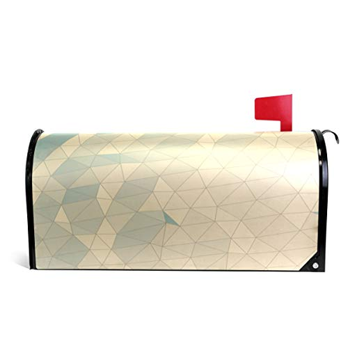(Ladninag Mailbox Covers Magnetic Geometric Wallpaper Standard)