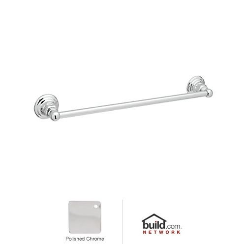 Rohl ROT1/30APC 30-Inch Country Bath Single Towel Bar in Polished Chrome