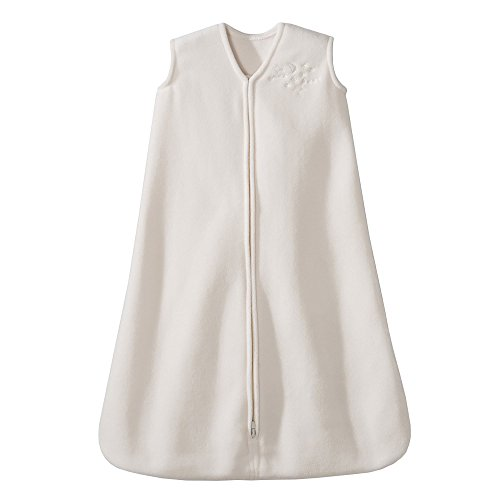 HALO Sleepsack Micro-Fleece Wearable Blanket, Cream, Large