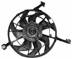 Fan Grand Am Radiator Pontiac - TYC 620070 Pontiac Grand AM Replacement Radiator/Condenser Cooling Fan Assembly