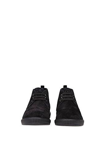 Ankle Boots Prada Men Suede Black 4T2754NERO Black 6.5UK Kt6M5CYH