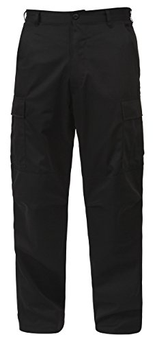 Rothco BDU Pant Black P/C - 3X-Large -Long
