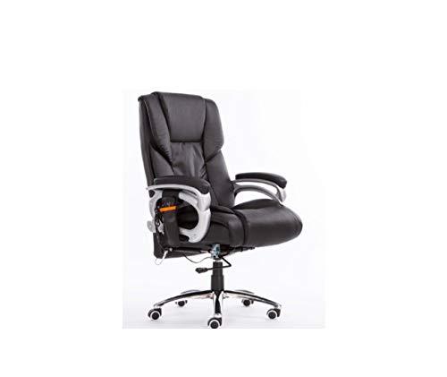 (Computer Chair Fashion Swivel Chair Ergonomic boss Chair Leather Office Chair)