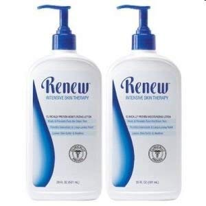 (Melaleuca Renew Intensive Skin Therapy Lotion 20oz - Value Size 2-Pack)