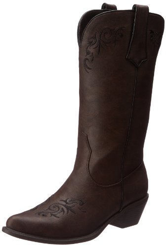 Women's Western Embroidered Fashion Boot Brown 6.5 B -