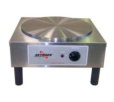 14-in Round Crepe Cooking Machine, Stainless, 110v