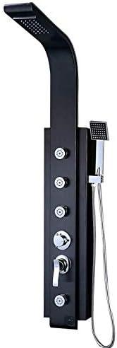 SISHUINIANHUA Duschset Badezimmer Kupfer Multifunktions Edelstahl gebürstet Duschwand Duschset für Badezimmer zu Hause