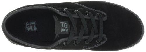 Der bunte Skate-Schuh der Kugel-Männer Schwarz / Schwarz Wildleder