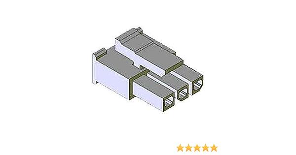 PLUG 1ROW 2POS 3MM MOLEX 43640-0201 PLUG /& SOCKET HOUSING 10 pieces