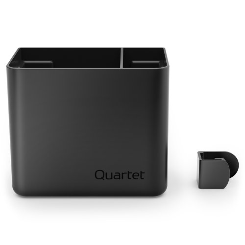 Quartet Prestige 2 Connects Accessory Storage Cup, 4 x 5 x 3 Inches (Segmented Cup)