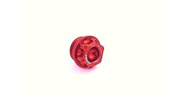 Aceite de Motor Tapón Ducati (Embrague en Seco EVOTECH OFC 03-) rojo: Amazon.es: Amazon.es