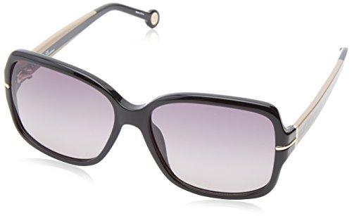 carolina-herrera-womens-she574-700-square-sunglassesblack-brown57-mm