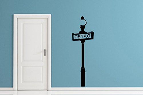 (FSDS Vinyl Wall Decal - Street Lights London Metro - Home Decor Sticker Vinyl Decals)