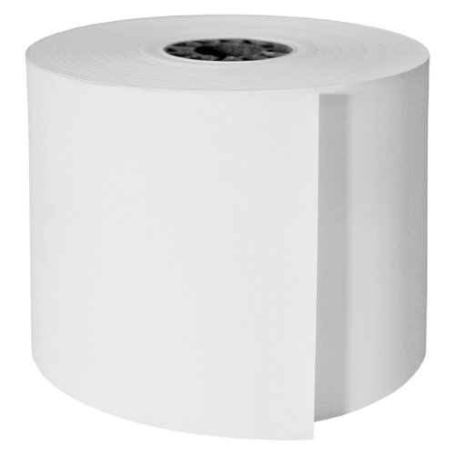 DayMark ACR-431350 Thermal Paper Cash Register Tape Roll, 1-Ply, White, 200' Length x 3-1/8'' Width (Case of 50) by DayMark Safety Systems