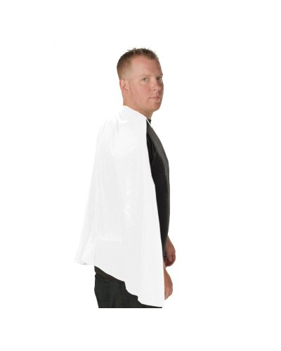 Superhero Adult Costume Cape (White) ()
