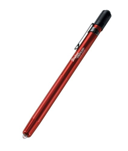 Streamlight 65035 Stylus 3-AAAA LED Pen Light, Red with White Light 6-1/4-Inch - 11 - Laser Pocket Pointer