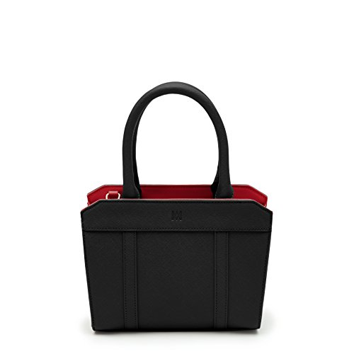 Marsi Bond Audrey Mini Tote (Black) - Stylish Mini Tote