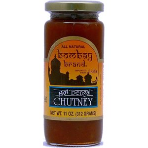 Bombay Brand Hot Bengal Chutney, 12.85 Ounce