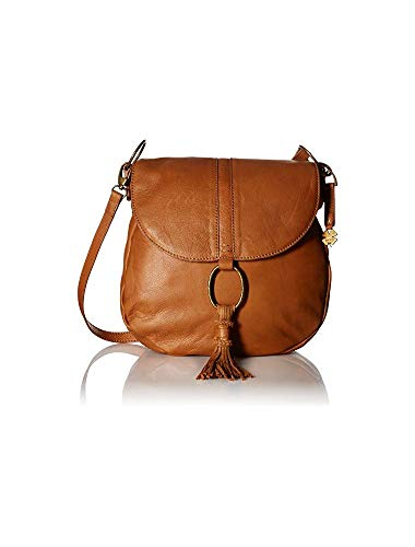 Lucky Brand Athena Convertible Flap, Tobacco (Cross Brand Flap Lucky Leather Bag Body)