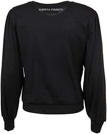 Alberta Ferretti Luxury Fashion Donna J12021725003 Nero Cotone T-Shirt   Primavera-Estate 20
