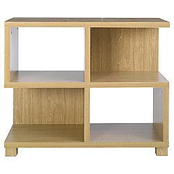 Camden Low Shelving Unit Display Cabinet Bookcase Shelf Office Storage Oak Effect  sc 1 st  Amazon UK & Camden Low Shelving Unit Display Cabinet Bookcase Shelf Office ...