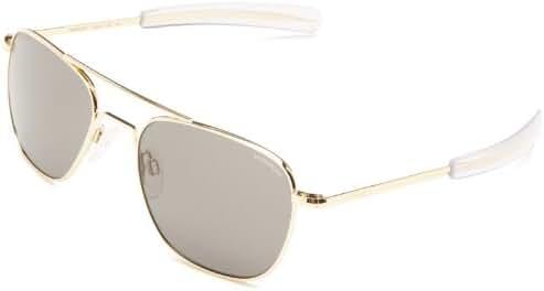 Randolph Aviator Non Polarized Square Sunglasses