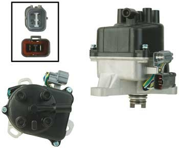 New Distributor for Honda Prelude 1997-2001 2.0 H22A OBD2 TD77U Complete Assembly by Parts Player