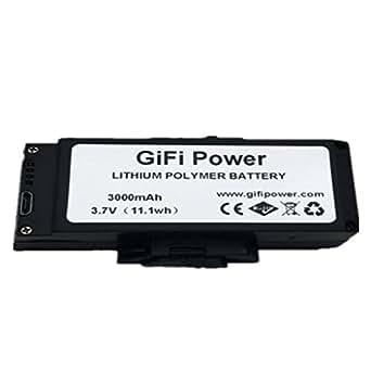 Amazon.com: Orcbee - Batería recargable de 3,7 V 3000 mAh ...