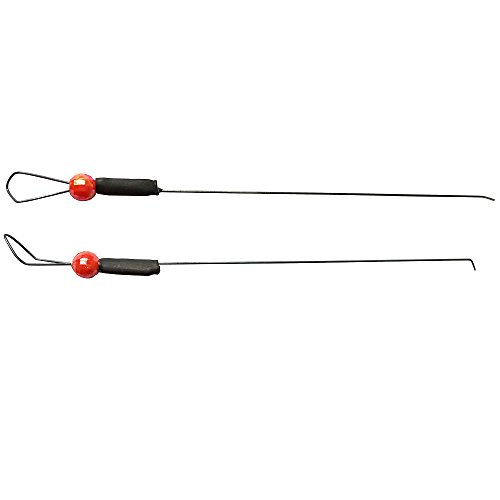 Krazywolf titanium spring bobber for ice fishing bite for Ice fishing bobbers
