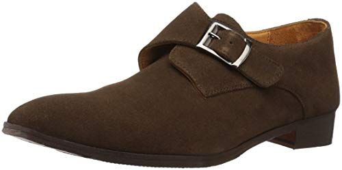 Carlos by Carlos Santana Freedom Monk-Strap Loafer Honey Brown Calfskin Suede 12 M US Women / 9.5 M US Men