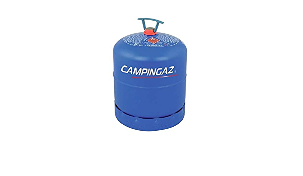 Bombona completa Campinga, art. 907 con 2,75 kg de gas – idal para caravana y camping