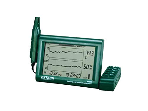- FLIR COMMERCIAL SYSTEMS RH520A-220 Humidity and Temperature Chart Recorder with Detachable Probe, 220V