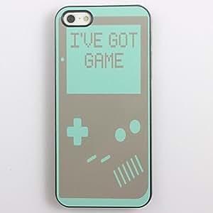 GJY I've Got Game Design Aluminum Hard Case for iPhone 4/4S
