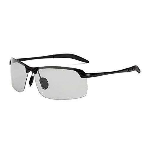 Exteriores protección Gafas 1 Light black para para 1 Black MUZI polarizadas Sol para conducción Hombre de UV Ligeras 78TCqw