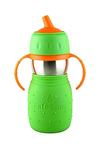 The Safe Sippy Cup Green New - Kid Basix Green