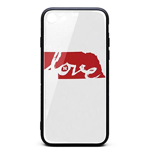 Personalised iPhone 7/8 Mobile Phone Case Love Nebraska City iPhone 7 Covers Cute iPhone 8 Case -