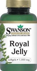 Gelée Royale 1000 mg 100 Sgels par Swanson Premium