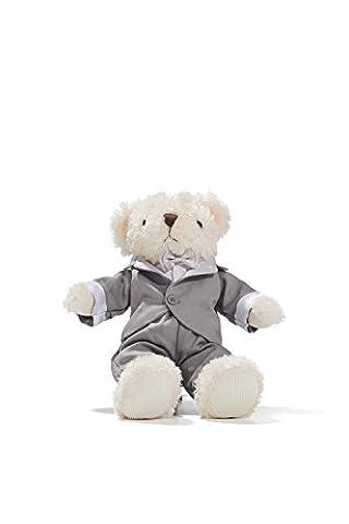 Groom Teddy Bear in Tuxedo Wedding Stuffed Animal Newlywed Plush Sitting Toys 8
