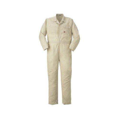 PERSON'S (パーソンズ)長袖つなぎ おしゃれ アメリカンスタイル コードレーン yt-p035 B008H1WV42 M|ベージュ