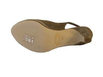Donna Piu Damen Sandalette SUSI Wildleder 3353 braun beige Größe 37   Amazon.de  Schuhe   Handtaschen bea224994e
