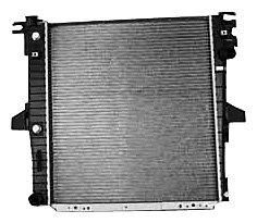 TYC 2308 Ford/Mercury 1-Row Plastic Aluminum Replacement Radiator (Replacement Radiator Mercury Mountaineer)