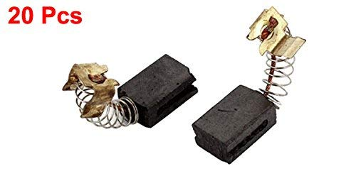 Spring-type Power Tool Motor Carbon Brushes 13 mm x 9 mm x 6 mm 20 pieces