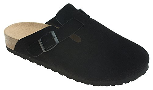 - AnnaKastle Womens Classic Clog Backless Slip ONS Loafer Slipper