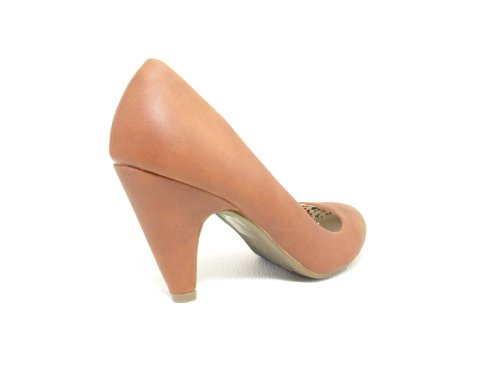 Damen Pumps Camel # 8484