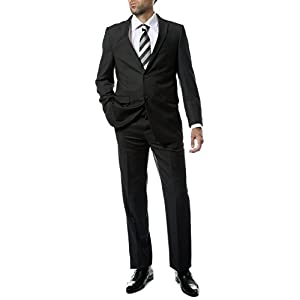 Ferrecci Mens 2 pc 2 Button Premium Regular Fit Suit