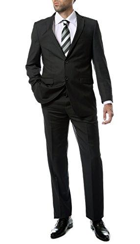Ferrecci Mens 2 pc 2 Button Premium Regular Fit Suit